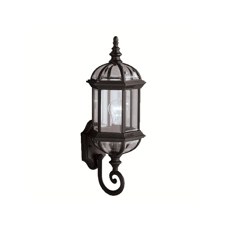 "Kichler 9736 Barrie Single Light 22"" Tall Outdoor Wall Sconce with"