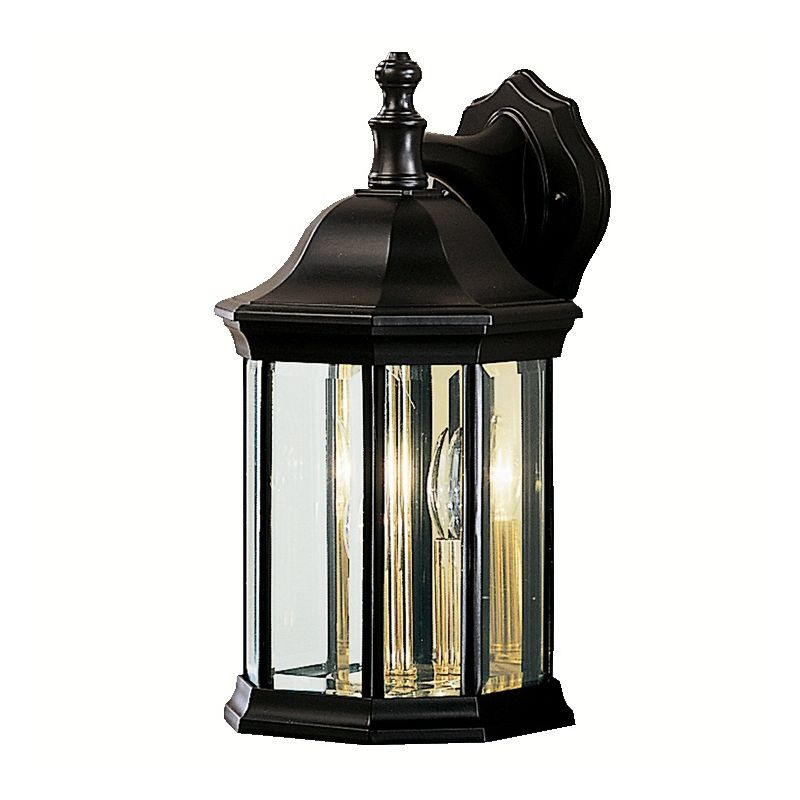 "Kichler 9777 Chesapeake Collection 3 Light 15"" Outdoor Wall Light"