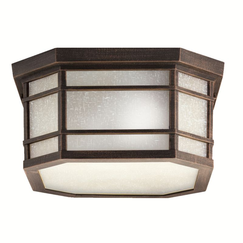 Kichler 9811 3 Light Ceiling Fixture from the Crosett Collection
