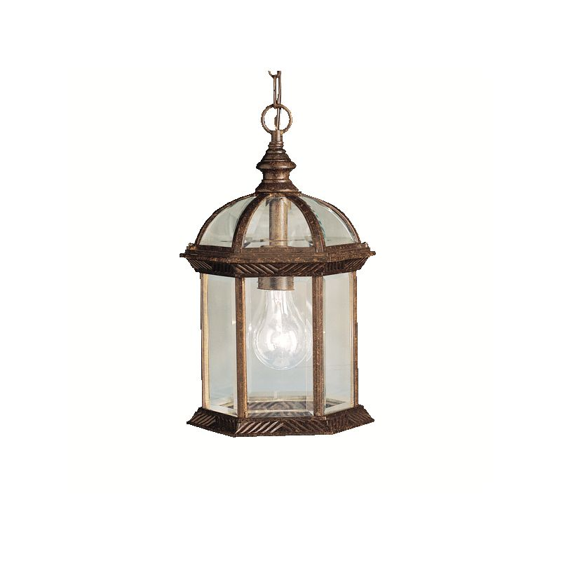 Kichler 9835 1 Light Outdoor Pendant from the Barrie Collection