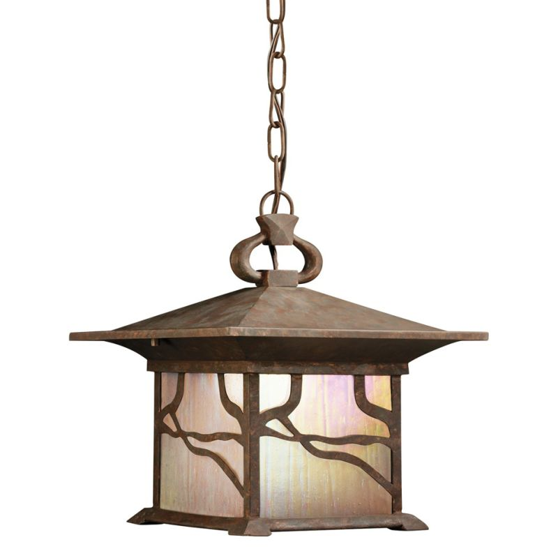 Kichler 9837 1 Light Outdoor Pendant from the Morris Collection
