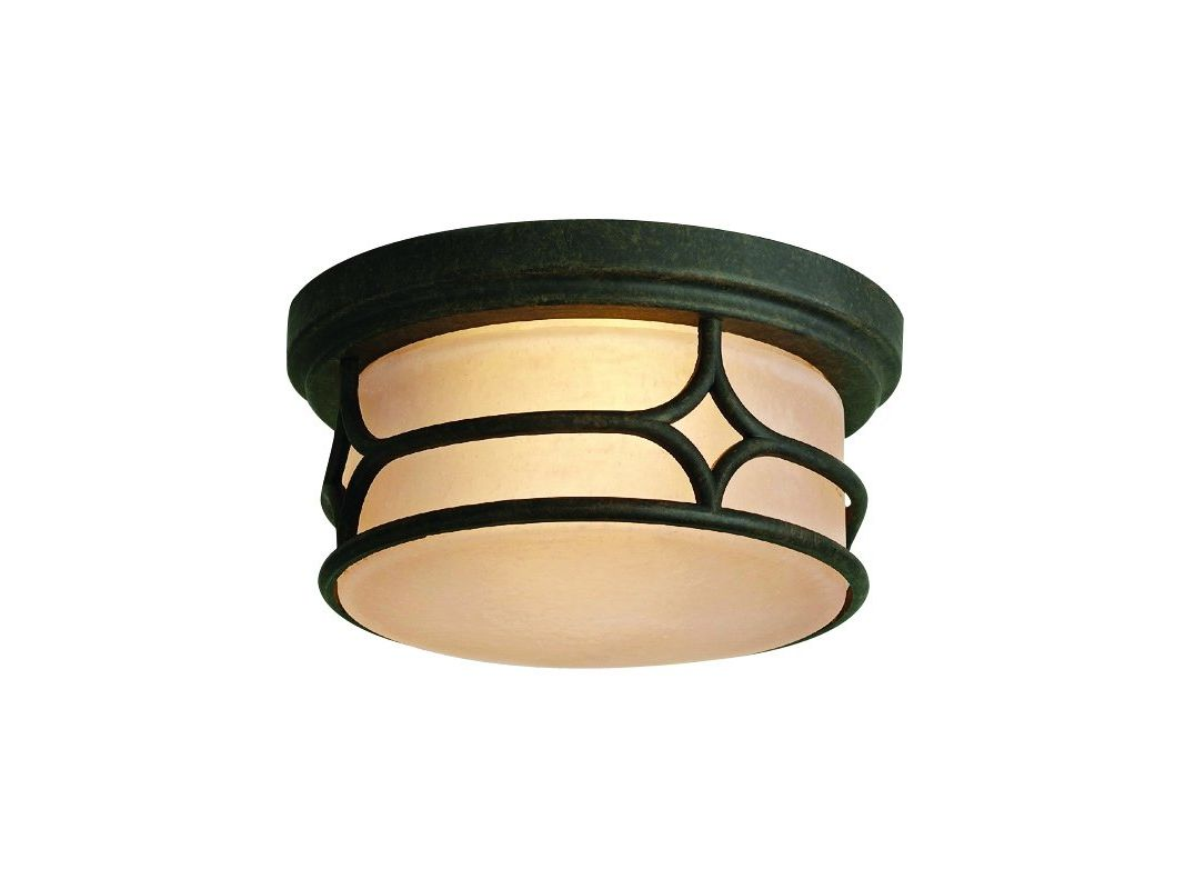 Kichler 9867 2 Light Outdoor Ceiling Fixture from the Chicago Sale $59.00 ITEM: bci845415 ID#:9867AGZ UPC: 783927133906 :