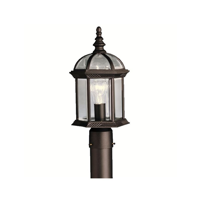 "Kichler 9935 Barrie Single Light 16"" Wide Outdoor Post Light with"