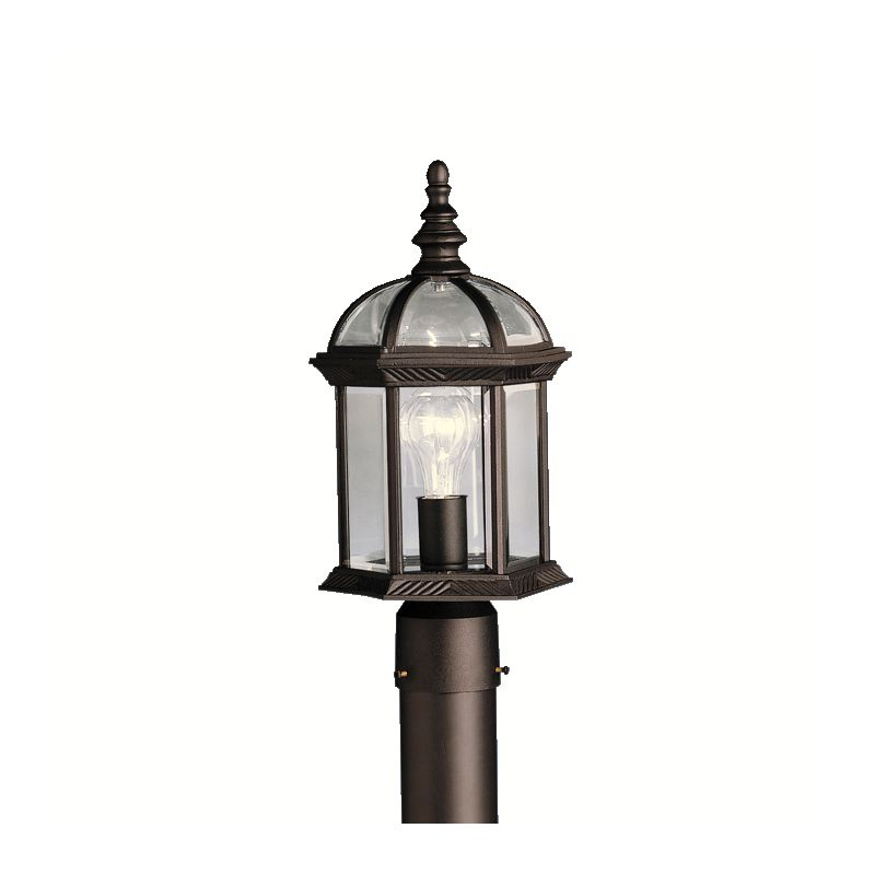 "Kichler 9935L16 Barrie LED 16"" Wide Energy Star Certified Outdoor Post"