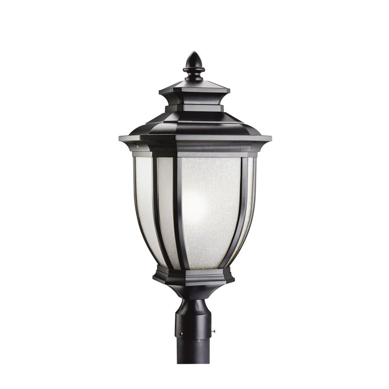 Kichler 9940 1 Light Post Light from the Salisbury Collection Black Sale $338.00 ITEM: bci845473 ID#:9940BK UPC: 783927226943 :