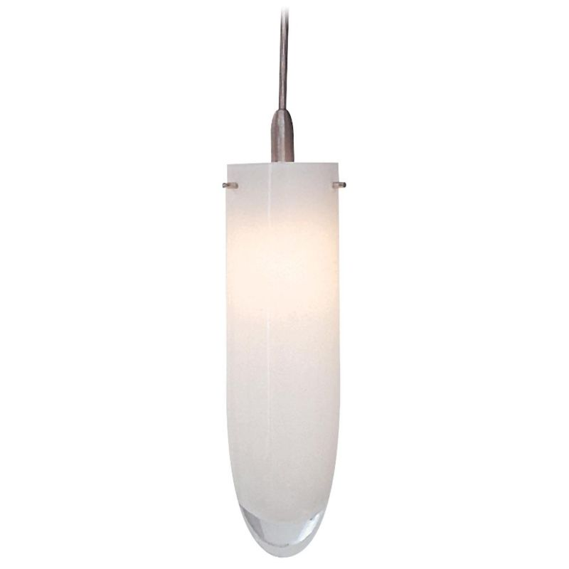 Kovacs GK SH2191 Hand Blown Bullet Style Glass Shade in White for the