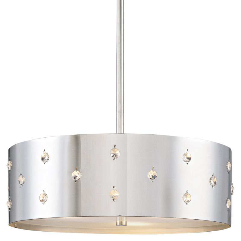 Kovacs P033-077 Chrome Contemporary Bling Bling Pendant