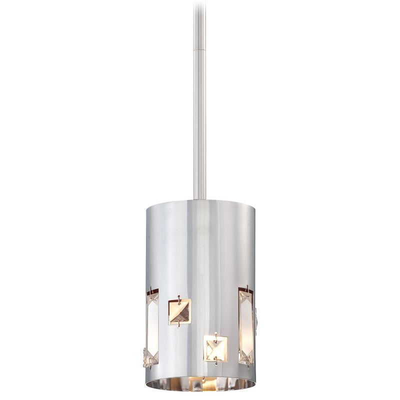 Kovacs P1081-077 Chrome Contemporary Bling Bang Pendant