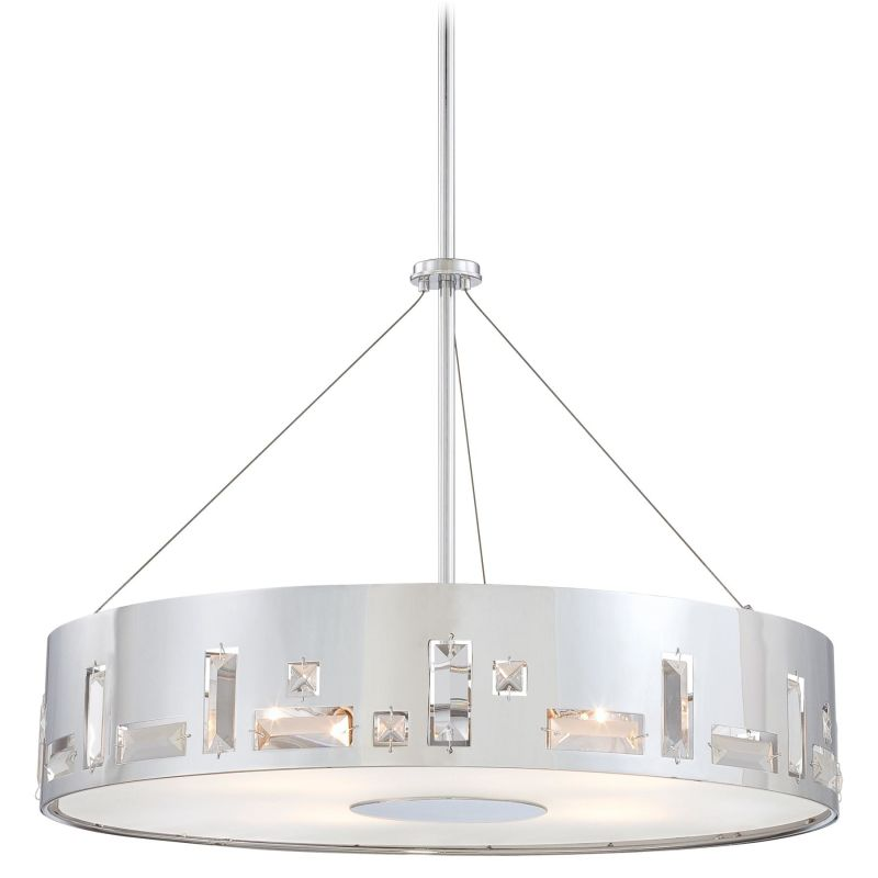 Kovacs P1093-077 Chrome Contemporary Bling Bang Pendant