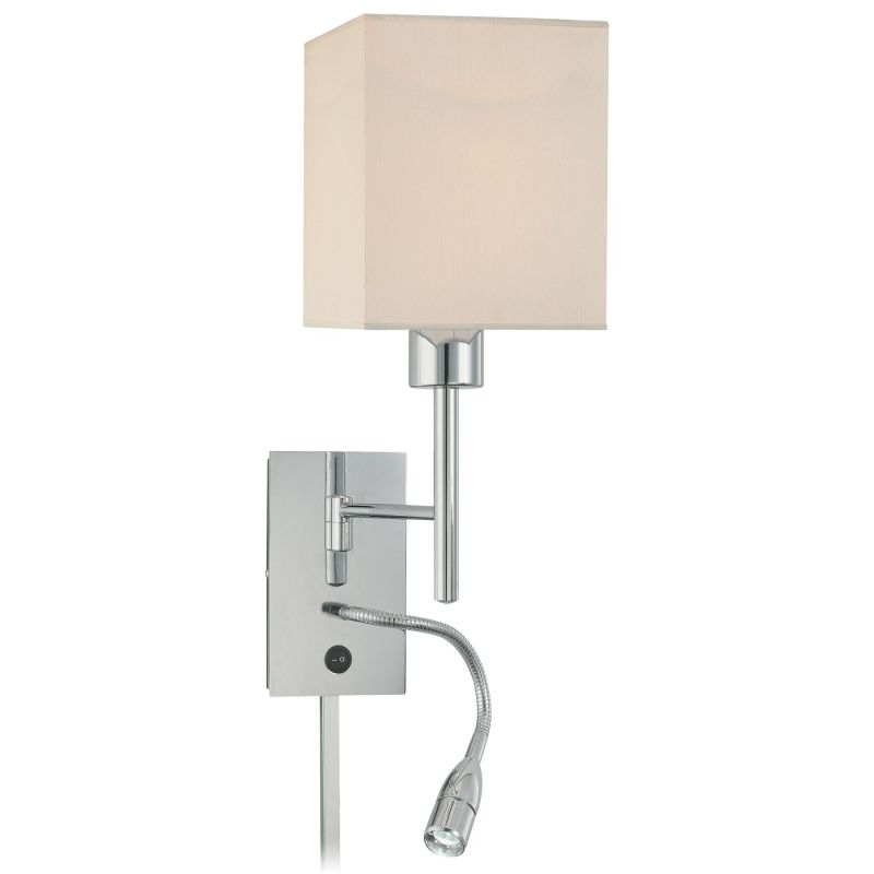 "Kovacs P477-077 1 Light 21"" High Plug In Wall Sconce from the George´s"