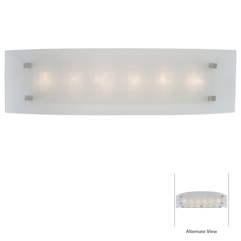 Kovacs P5070-077 Chrome Contemporary Pillow Bathroom Light