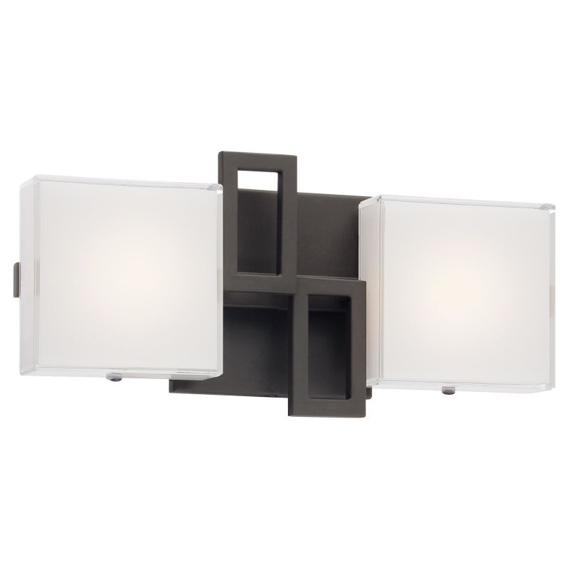 "Kovacs P5312-467B-L 2 Light 12.5"" ADA Compliant LED Bathroom Vanity"