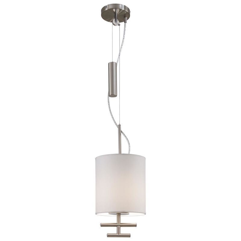 Kovacs P542-612 Satin Steel Contemporary Counter Weights Pendant Sale $115.50 ITEM: bci1335391 ID#:P542-612 UPC: 844349008262 :