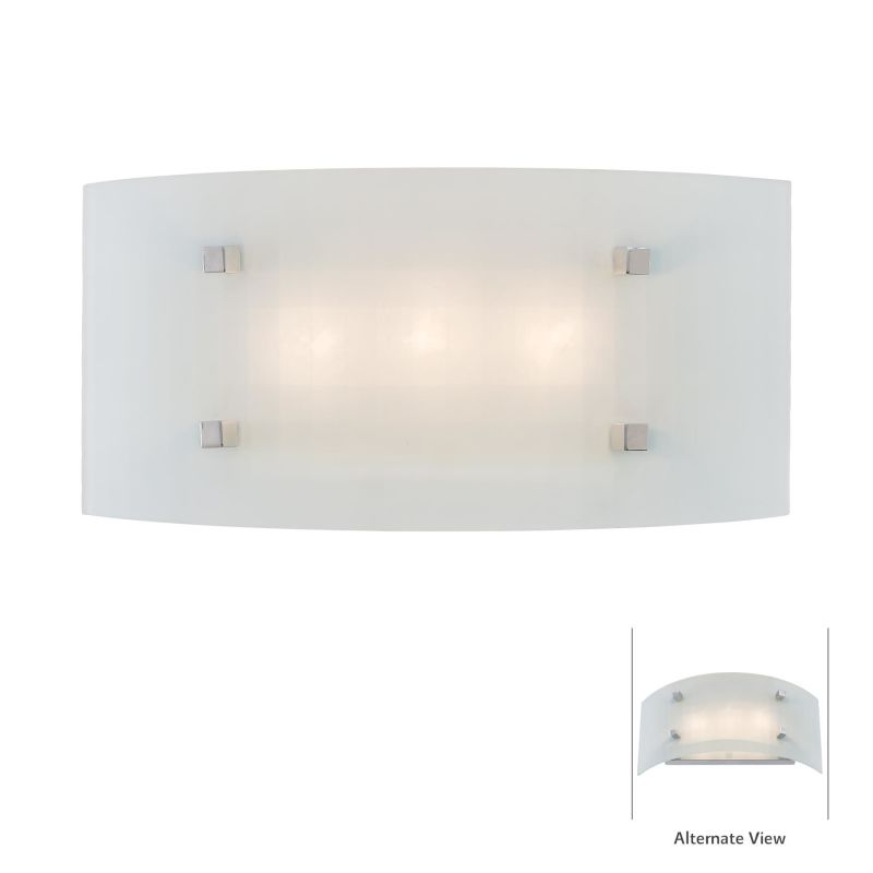 Kovacs P6115-1-077 Chrome Contemporary Pillow Bathroom Light
