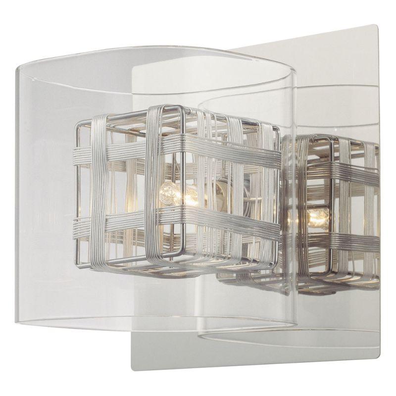 Kovacs P800-077 Chrome Contemporary Jewel Box Wall Sconce