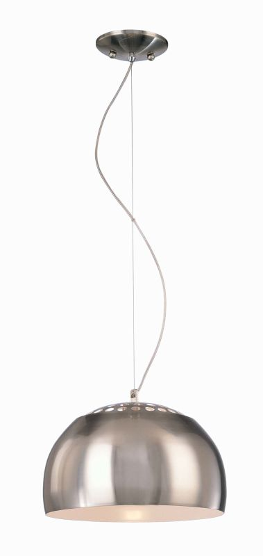 """Kovacs 1 Light Mini Pendant 12.25"""" in Brushed Nickel P861-084 """
