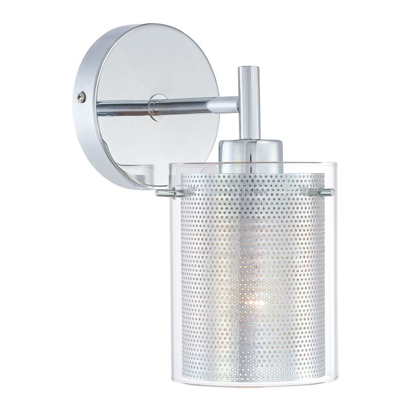 Kovacs P962-077 Chrome Contemporary Grid II Wall Sconce