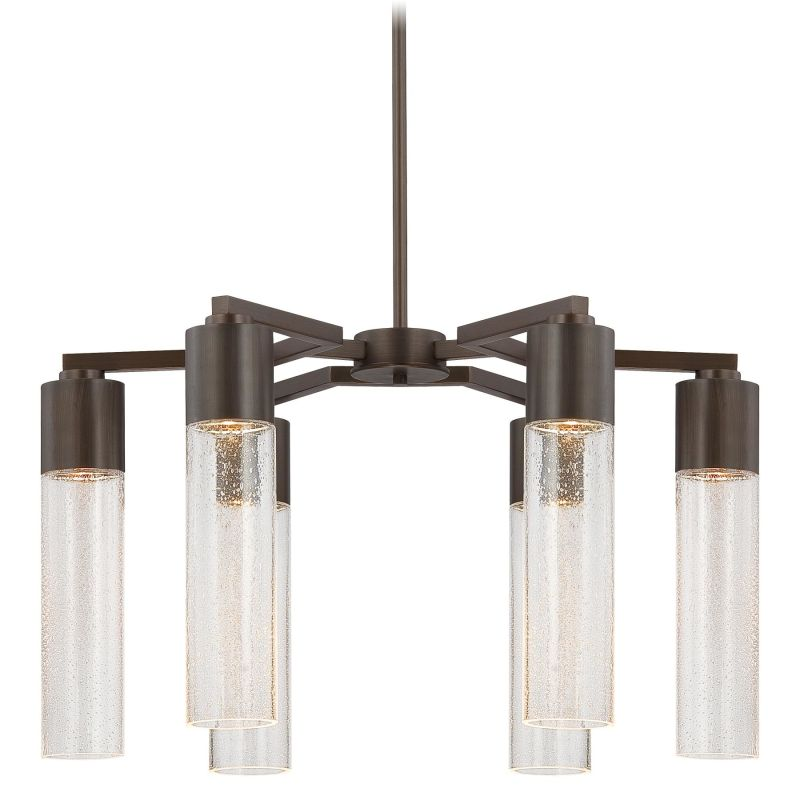 Kovacs P975 6 Light 1 Tier Chandelier from the Light Rain Collection