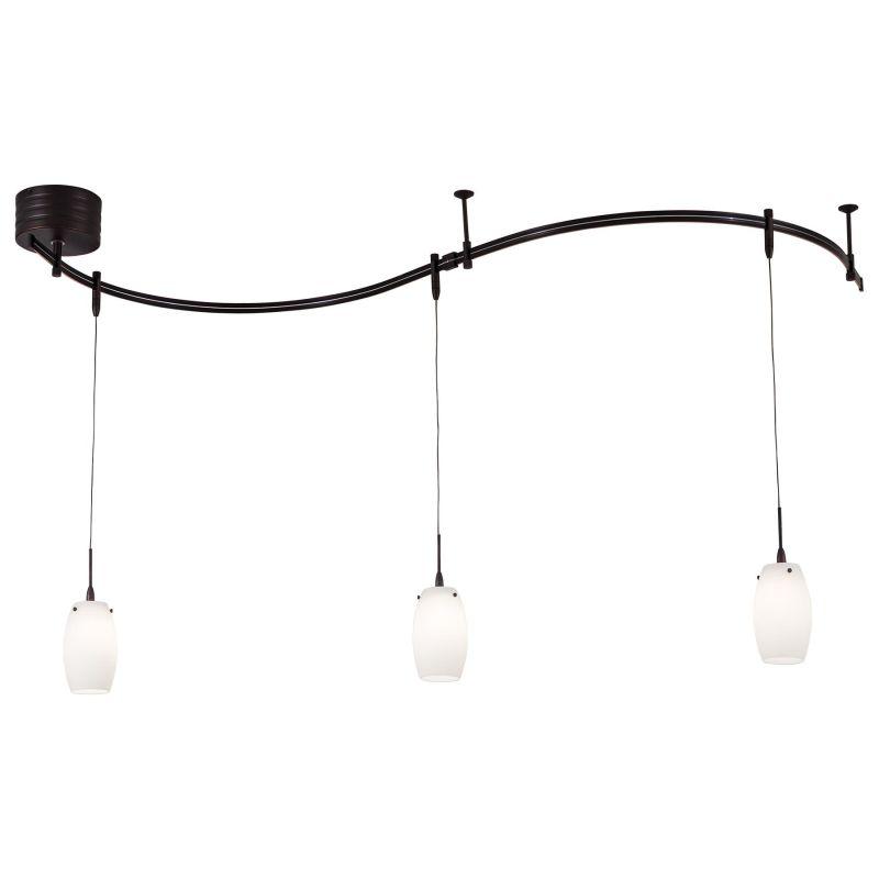 Kovacs GK P8003-1 3 Light Contemporary / Modern Monorail Mini Pendant