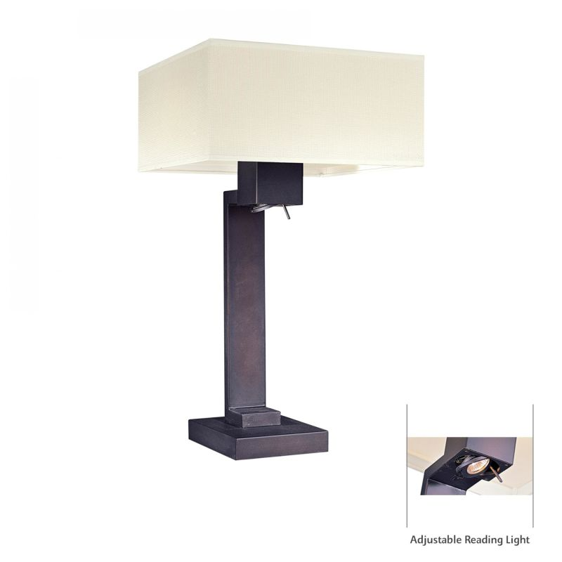 Kovacs GK P342 2 Light Table Lamp from the Step Collection Bronze Sale $388.50 ITEM: bci307527 ID#:P342-617 UPC: 874944000743 :