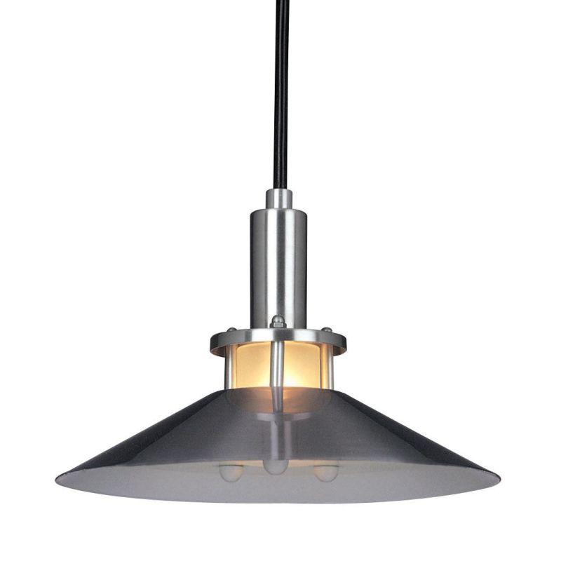 """Kovacs GK P9721 1 Light 5.5"""" Height Mini Pendant Satin Aluminum Indoor"""