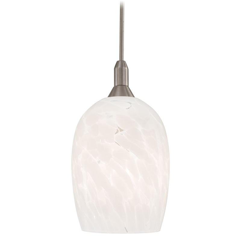 Kovacs GK P402-10 1 Light Mini Pendant with White Shade from the