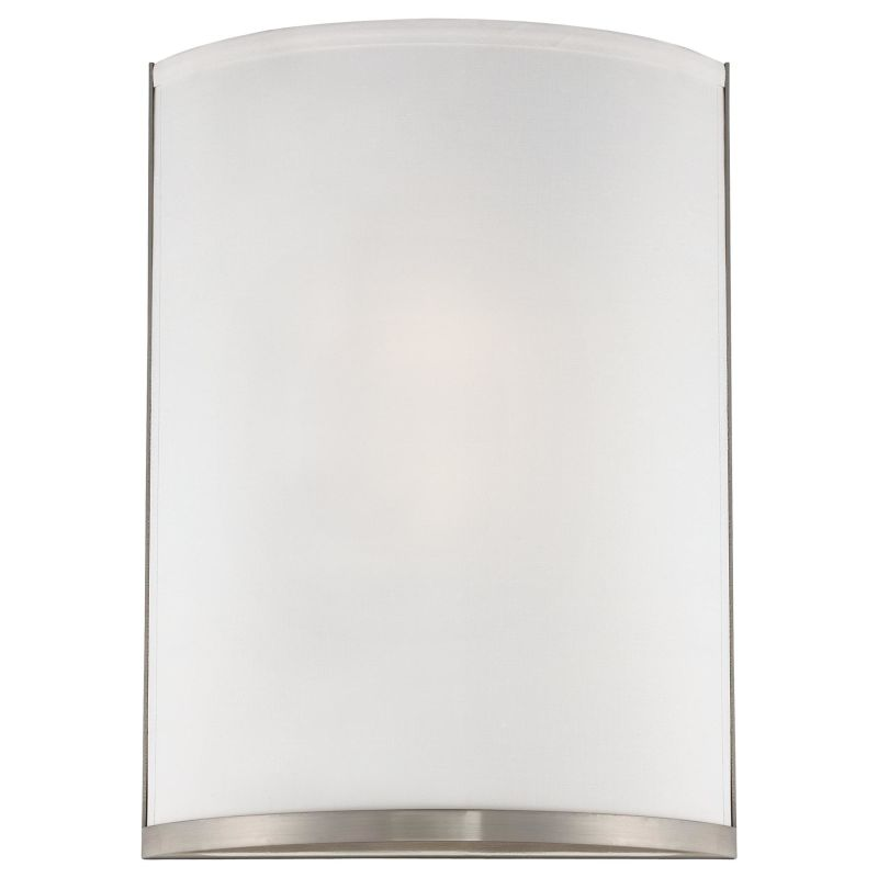 Wall Sconce Mounting Height Ada : Kovacs P513-084-PL Brushed Nickel 2 Light 14.25