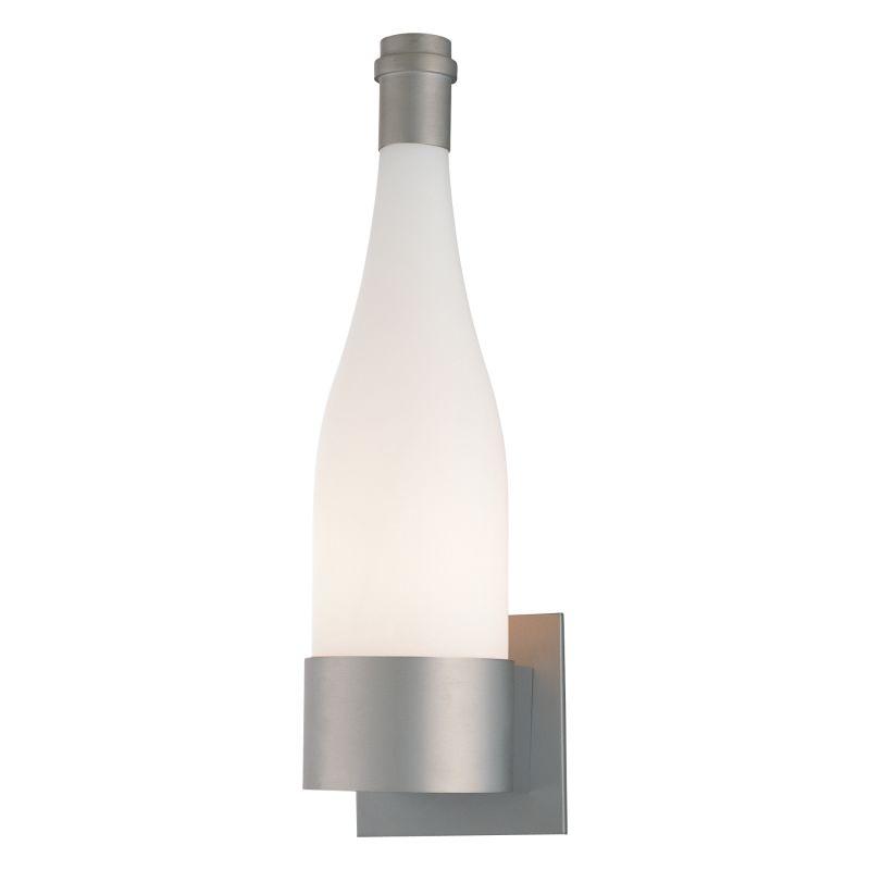 "Kovacs GK P070 1 Light 15.75"" High Wine Bottle Wall Sconce Silver"