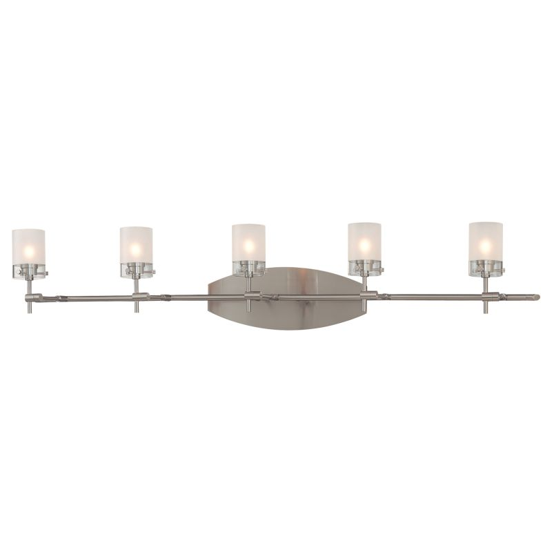 Kovacs P5015-084 Brushed Nickel Contemporary Shimo Bathroom Light Sale $252.00 ITEM: bci307740 ID#:P5015-084 UPC: 870540001924 :