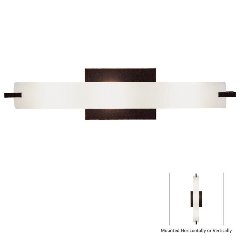 Kovacs P5044-37B Painted Bronze Contemporary Tube Bathroom Light