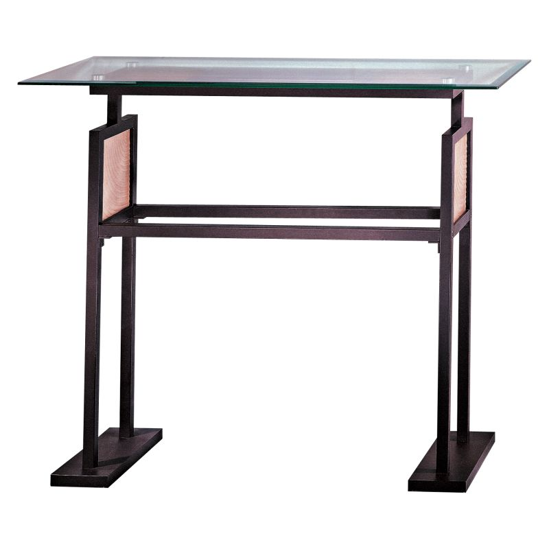 Kovacs GK P5188 Console Table from the Ripple Collection Dorian Bronze