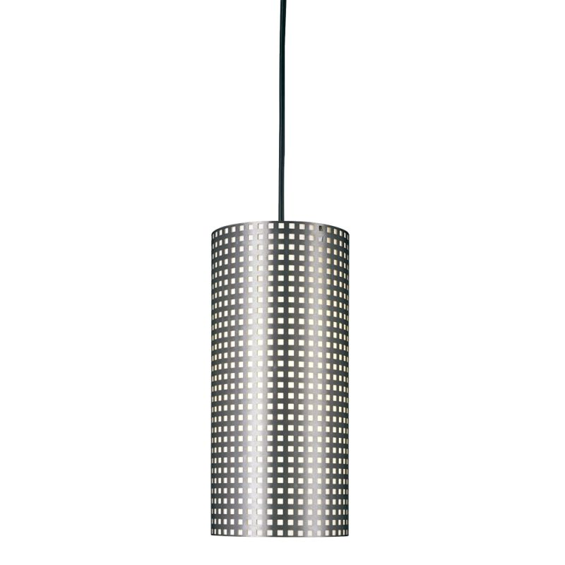 Kovacs GK P5746 1 Light Mini Pendant from the Grid Collection Brushed