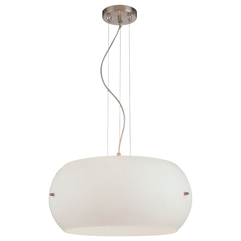 Kovacs P584-084 Brushed Nickel Contemporary Kovacs 50 Pendant