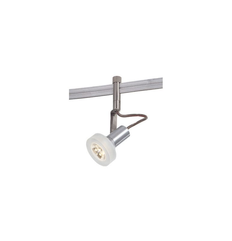 Kovacs GKTH4305-084 LED Track Head with Frosted White Shades Silver