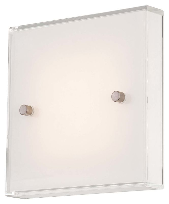 Kovacs P1141-084-L Brushed Nickel Contemporary Wall Sconce