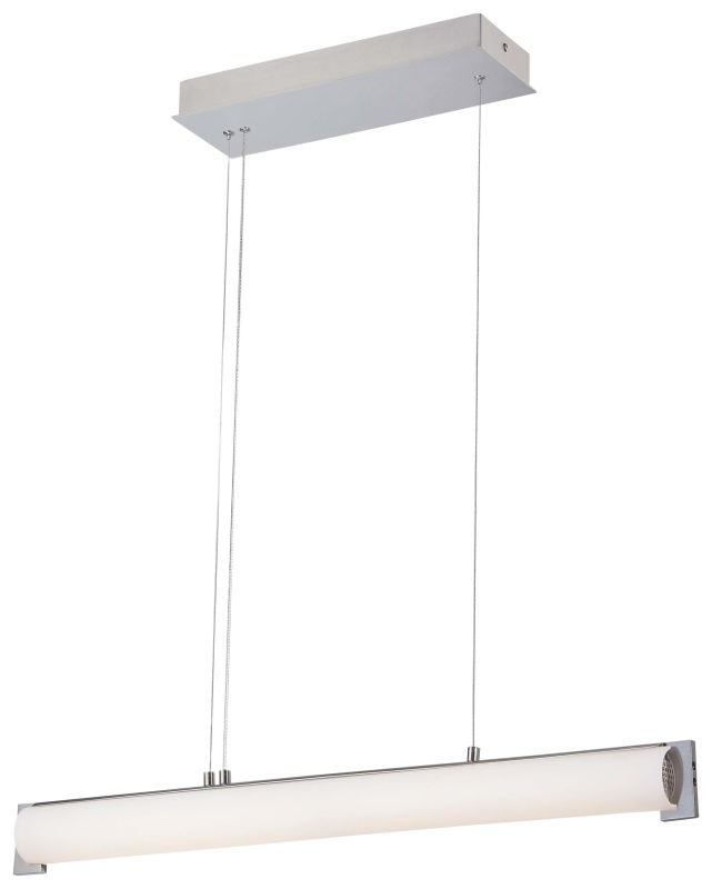 "Kovacs P1151-084-L 1 Light 1 Tier 3.5"" Height LED Linear Chandelier"