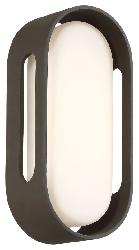 Kovacs P1281-286-L LED Outdoor Wall Sconce from the Floating Oval LED Sale $189.00 ITEM: bci2907868 ID#:P1281-286-L UPC: 844349020264 :