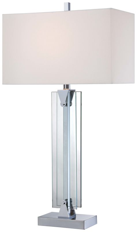 Kovacs P1608-077 1 Light Table Lamp in Chrome from the Portables