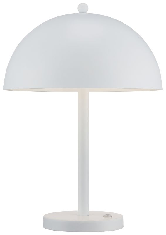 Kovacs P302-044-L LED Table Lamp from the Portables Collection White