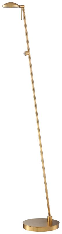 Kovacs P4334-248 1 Light LED Floor Lamp in Honey Gold from the