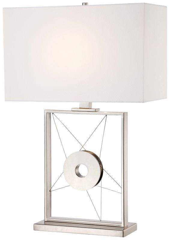 Kovacs P768-613 1 Light Accent Table Lamp Polished Nickel Lamps Accent