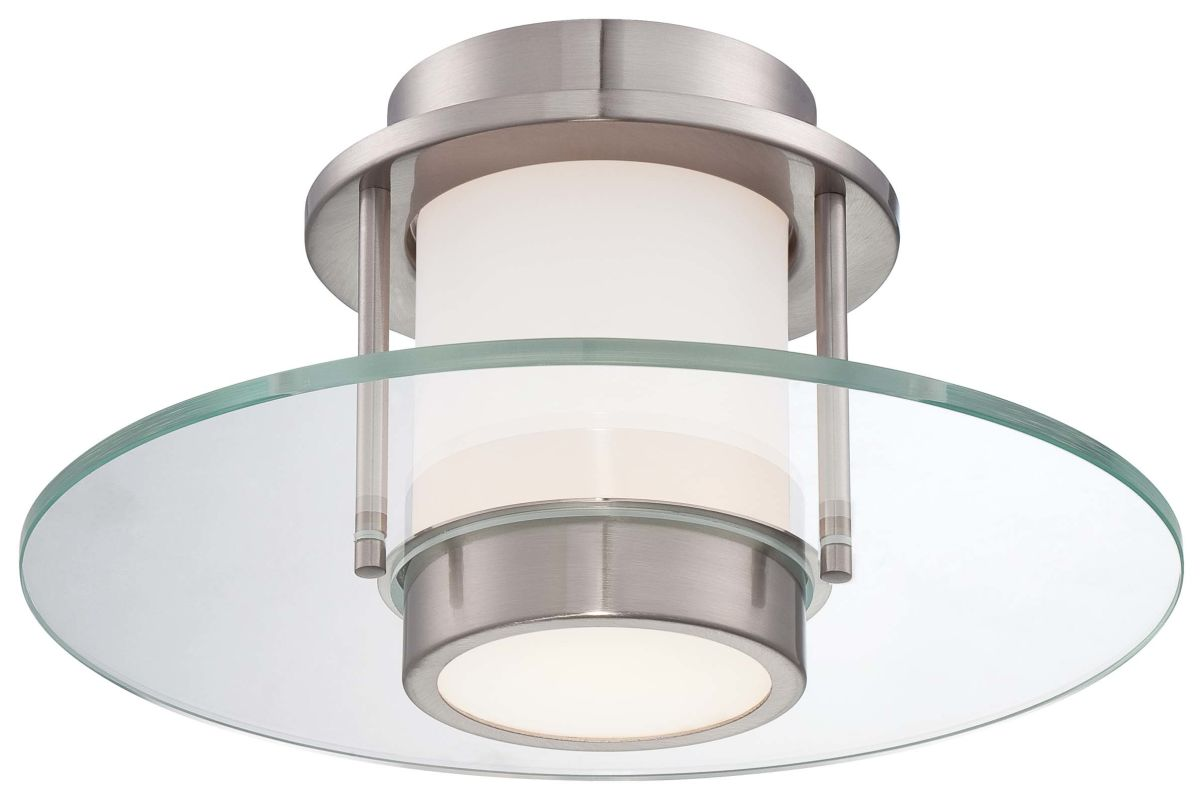 Kovacs P854-084 Brushed Nickel Contemporary Ceiling Light