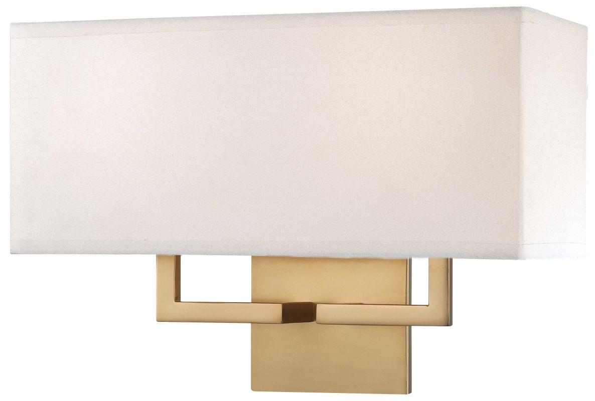 Wall Sconce Height Stairwell : Kovacs P472-248 Honey Gold 2 Light 11