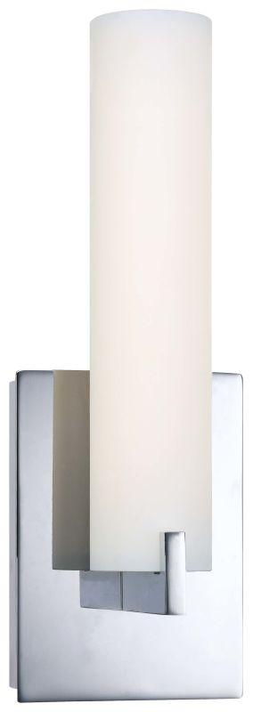 Kovacs P5040-077-L Chrome Contemporary Tube Wall Sconce