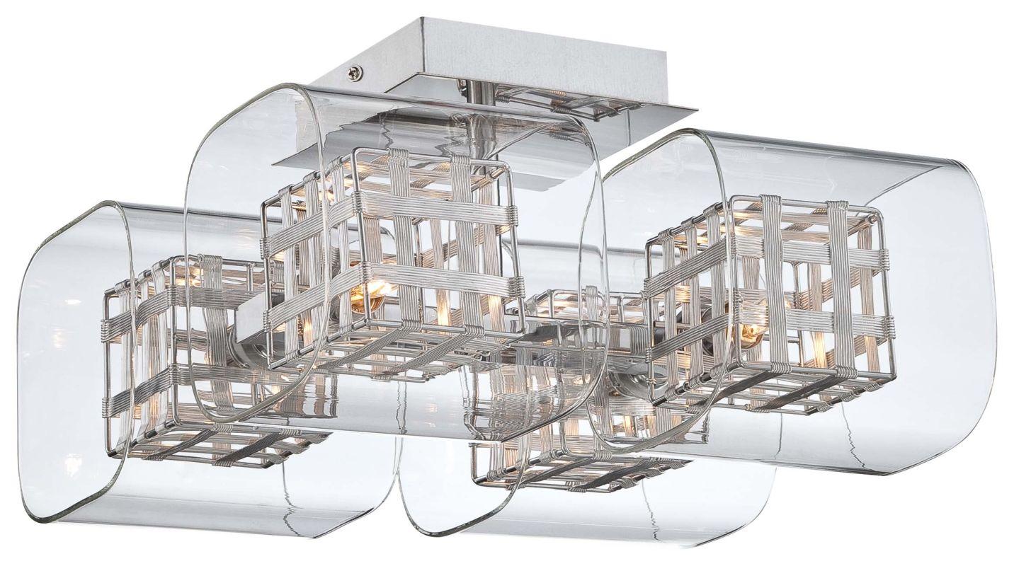 Kovacs P802-077 Chrome Contemporary Jewel Box Ceiling Light Sale $184.80 ITEM: bci1951795 ID#:P802-077 UPC: 844349010654 :