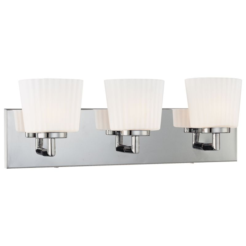 "Kovacs P5143-077 3 Light 20"" Wide ADA Bathroom Vanity Light Chrome"