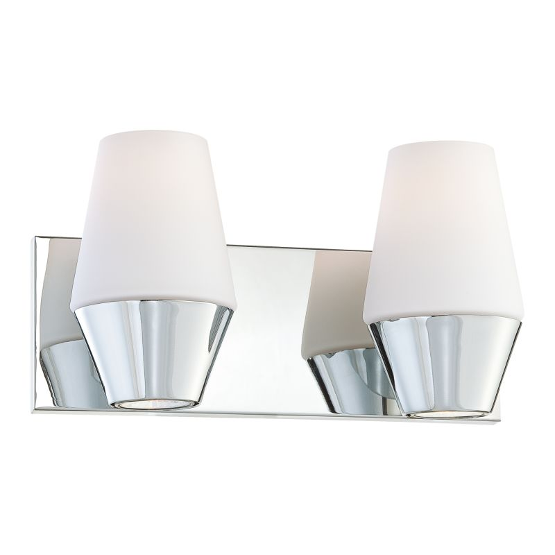 "Kovacs P5842 2 Light 12.5"" Bathroom Vanity Light from the Retrodome"