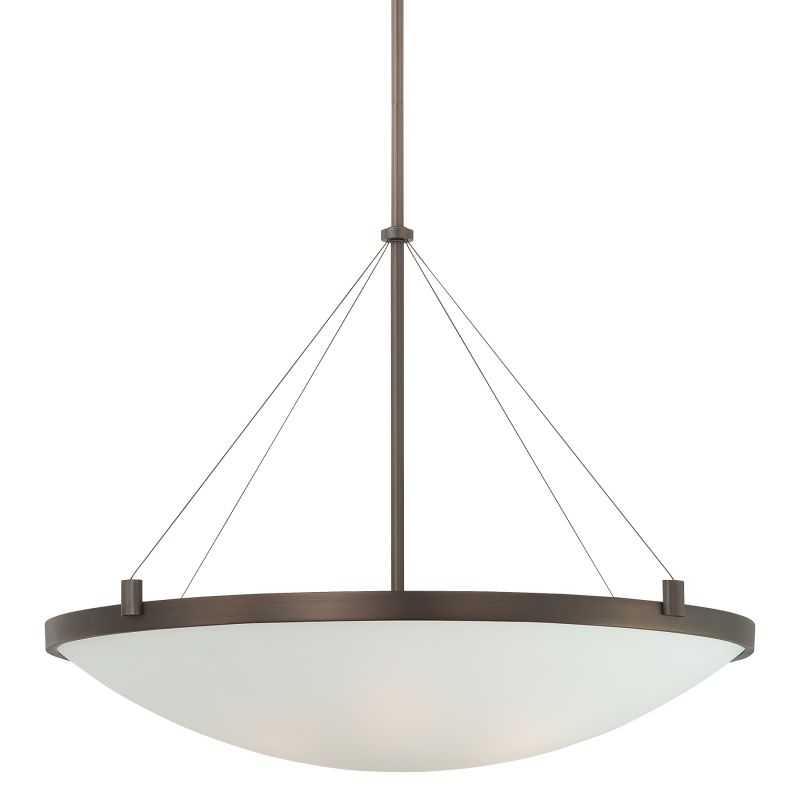 Kovacs P593 6 Light Bowl Shaped Pendant from the Suspended Collection