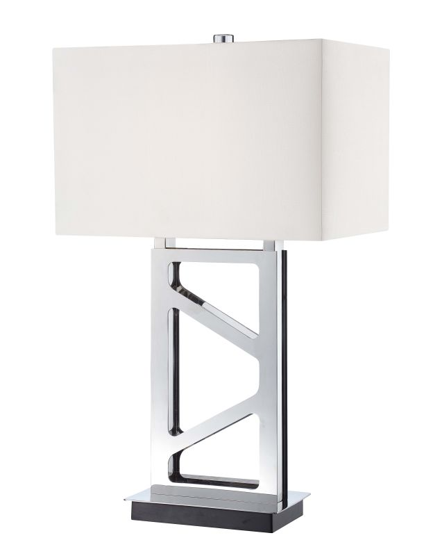 Kovacs P795 1 Light Table Lamp Polished Nickel Lamps