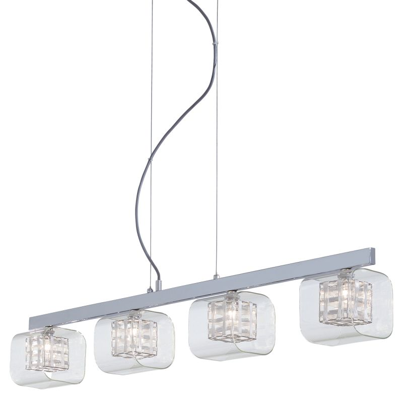 Kovacs P804-077 Chrome Contemporary Jewel Box Chandelier Sale $231.00 ITEM: bci1335426 ID#:P804-077 UPC: 844349006589 :